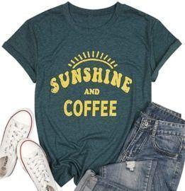 Sunshine & Coffee Tee