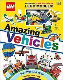 Lego Amazing Vehicles Hardcover Book