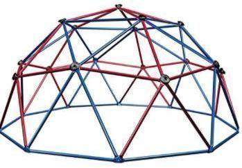 60 Lifetime Geometric Dome Climber Play Center