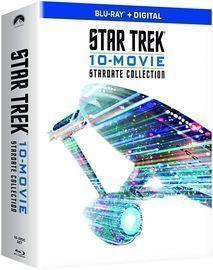 Star Trek 10-Movie Stardate Collection Blu-Ray Set
