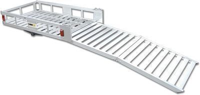 MaxxHaul Aluminum Cargo Carrier with 60 Ramp