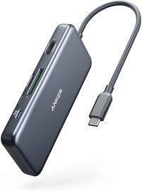 Anker 7-in-1 USB C to HDMI Hub w/ 100W PD, microSD/SD Card Reader