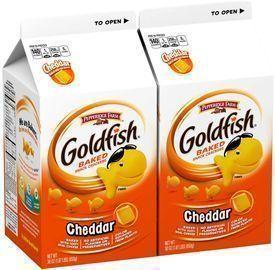 2 Pack of Pepperidge Farm Goldfish Crackers (30 Ounces Per Pack)