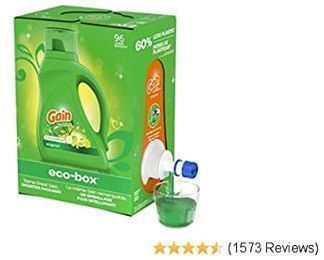 Eco Box of Gain Ultra Concentrated Liquid Laundry Detergent