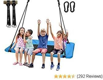 700lb Giant 60 Platform Tree Swing for Kids & Adults