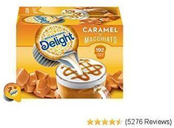 International Delight Coffee Creamer Singles, 192 Count