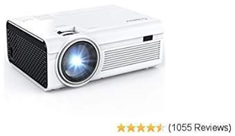 Mini LED Video Projector 55,000 Hours Lamp Life
