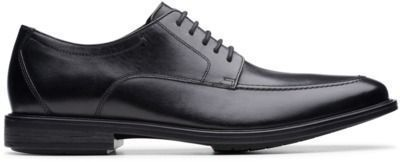 Hampshire Lace Black Leather Shoes
