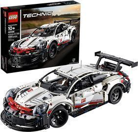 Lego Technic Porsche 911 Race Car Building Set