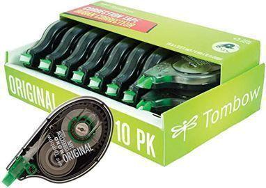 Tombow 68720 MONO Original Correction Tape, 10pk