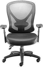 Staples Carder Mesh Back Fabric Office Chair, Black