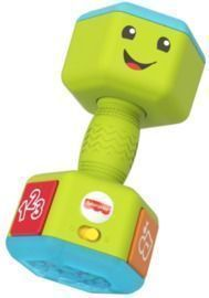 Fisher-Price Laugh and Learn Countin' Reps Dumbbell Musical Toy