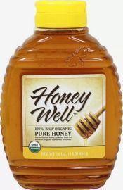 Honeywell Raw Organic Pure Honey 16-oz. Bottle
