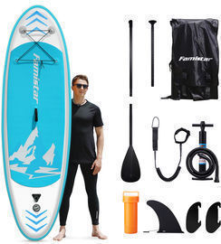 Famistar 8'7 Inflatable Stand Up Paddle Board + Accessories