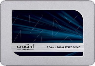 500GB Crucial MX500 2.5 3D NAND SATA III Internal Solid State Drive