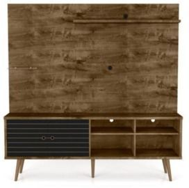 Manhattan Comfort Liberty 70.9 Entertainment Center