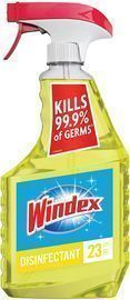 Windex Multi-Surface Cleaner and Disinfectant Spray Bottle