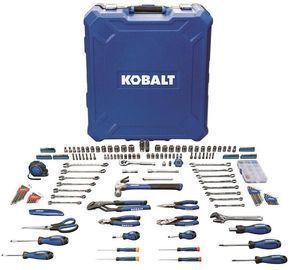 Kobalt 200pc Household Tool Set w/ Hard Case