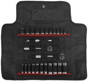 Grease Monkey Socket Roll Tool Organizer & Carrier
