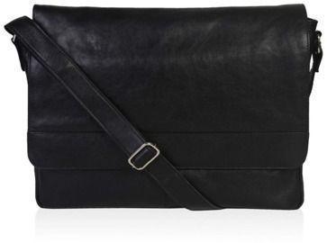 Estalon Leather 15 Messenger Bag