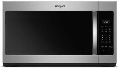 Whirlpool 1.7-cu ft Over the Range Microwave, Fingerprint Resistant Stainless Steel