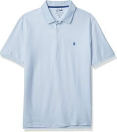 IZOD Men's Advantage Performance Short Sleeve Heather Polo