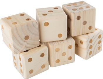 Wakeman Giant Wooden Yard Dice Outdoor Lawn Game