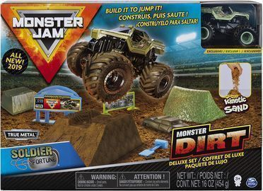 Monster Jam Truck Deluxe Set