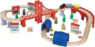 Maxim Enterprise Inc Wooden Train Set