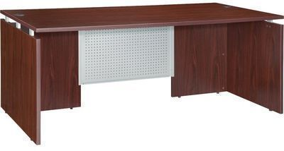 Lorell Ascent 68600 Series Bowfront Desk