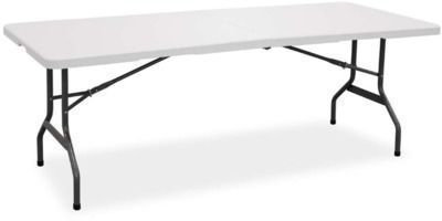 Living Accents 29-1/4H x 30W x 72 Fold-in-Half Table