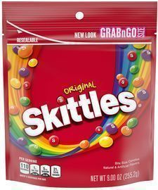 SKITTLES Original Candy, 9 Ounce Bag
