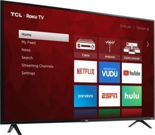 HOT! TCL 55 Class 4K UHD LED Roku Smart TV HDR 4 Series 55S421