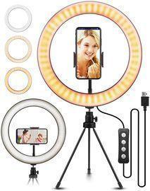 10.2 ELEGIANT Selfie Ring Light w/ Tripod Stand & Phone Holder
