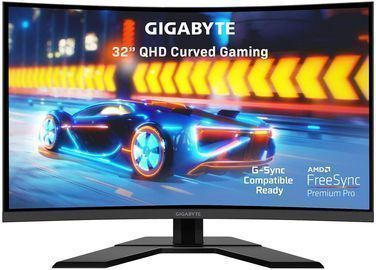 GIGABYTE G32QC 32 Curved 2560x1440 165Hz FreeSync VA Monitor