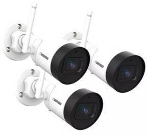 Defender Guard 1440p IP Security Camera 3-Pack