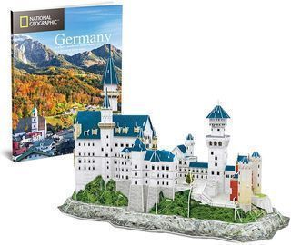 CubicFun Gemany Neuschwanstein Castle 3D Puzzle