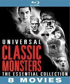 Universal Classic Monsters: The Essential 8-Film (1931-1954) Collection