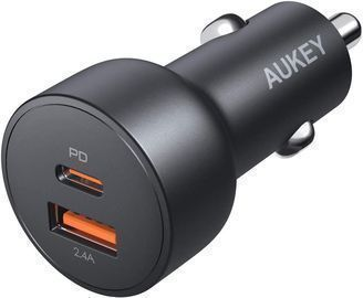 AUKEY 30W USB C Car Charger w/ Quick Charge 3.0