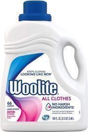 2 Packs of Woolite Liquid Laundry Detergent (100 Fl. Oz.)