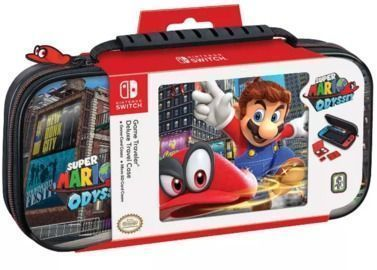 Nintendo Switch Game Traveler Super Mario Odyssey Deluxe Travel Case