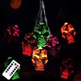 30LEDs Halloween Spooky Lights - Multicolor