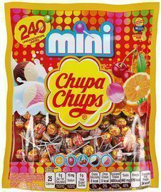 Chupa Chups Mini Lollipops 240-Ct.