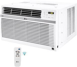 LG 8,000 BTU Window Smart Air Conditioner w/ Remote