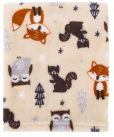 Parent's Choice Fox Woodland Baby Blanket