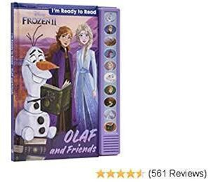 Disney Frozen 2 - I'm Ready to Read Book