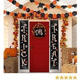 3 Piece Trick or Treat Halloween Banner