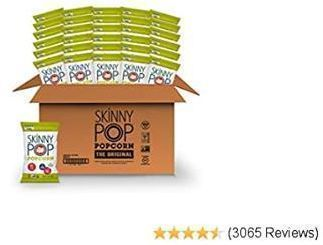 30 pack of SkinnyPop Original Popped Popcorn