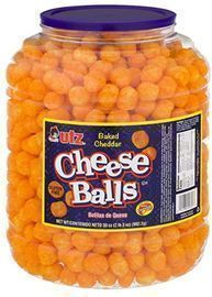 UTZ Cheese Balls  35 Ounce Barrel