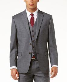 Lauren Ralph Lauren Men's Solid Ultraflex Classic-Fit Wool Jacket